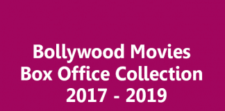 Bollywood Movies Box Office Collection Report 2017 - 2019