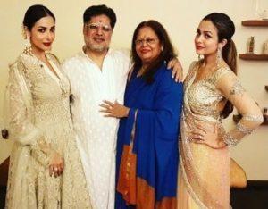 About Malaika Arora Family