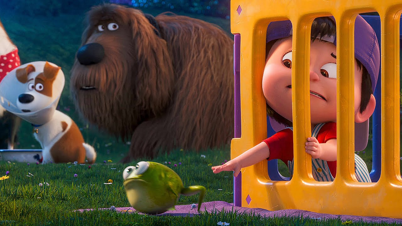 Entertainment scene in Secret Life of Pets 2