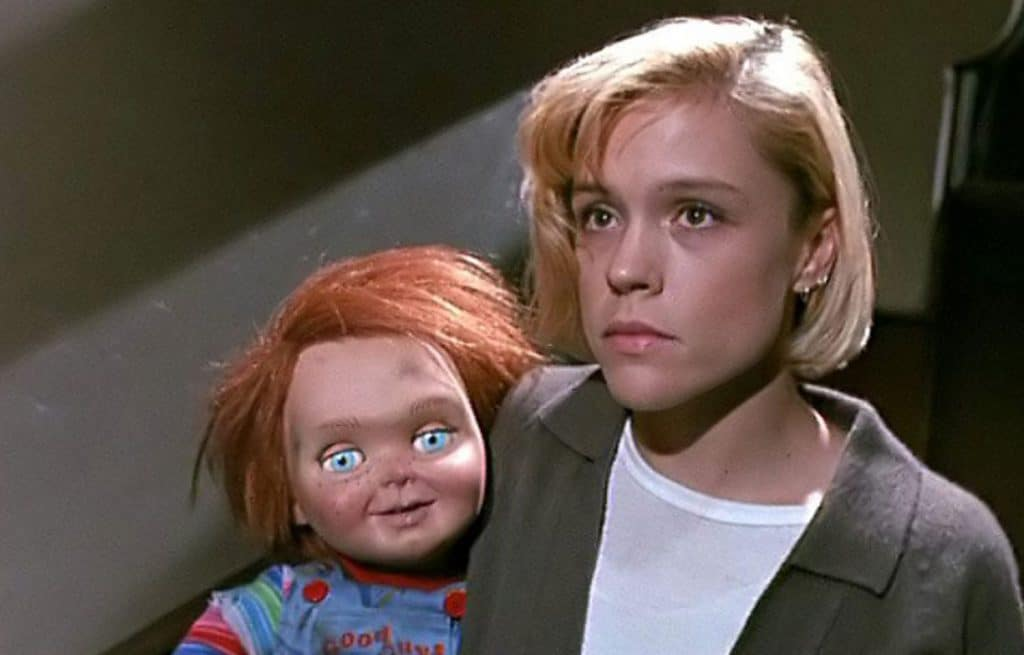 Emotional scene in Child's Play