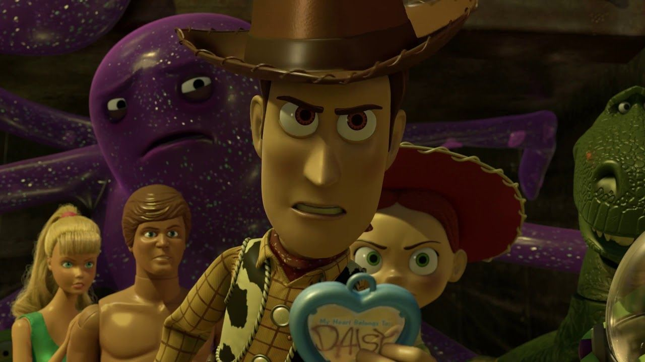 Angery emotional Scenes in Toy Story 4