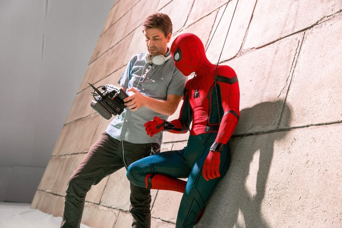 Action Scenes in Spider-Man Homecoming