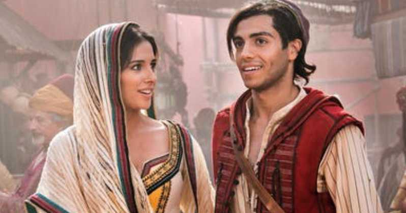Aladdin movie entertating scenes