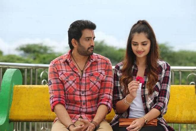 A1 Accused No 1 Santhanam romantic Scene
