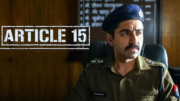 Article 15 Full Movie Download Filmyzilla
