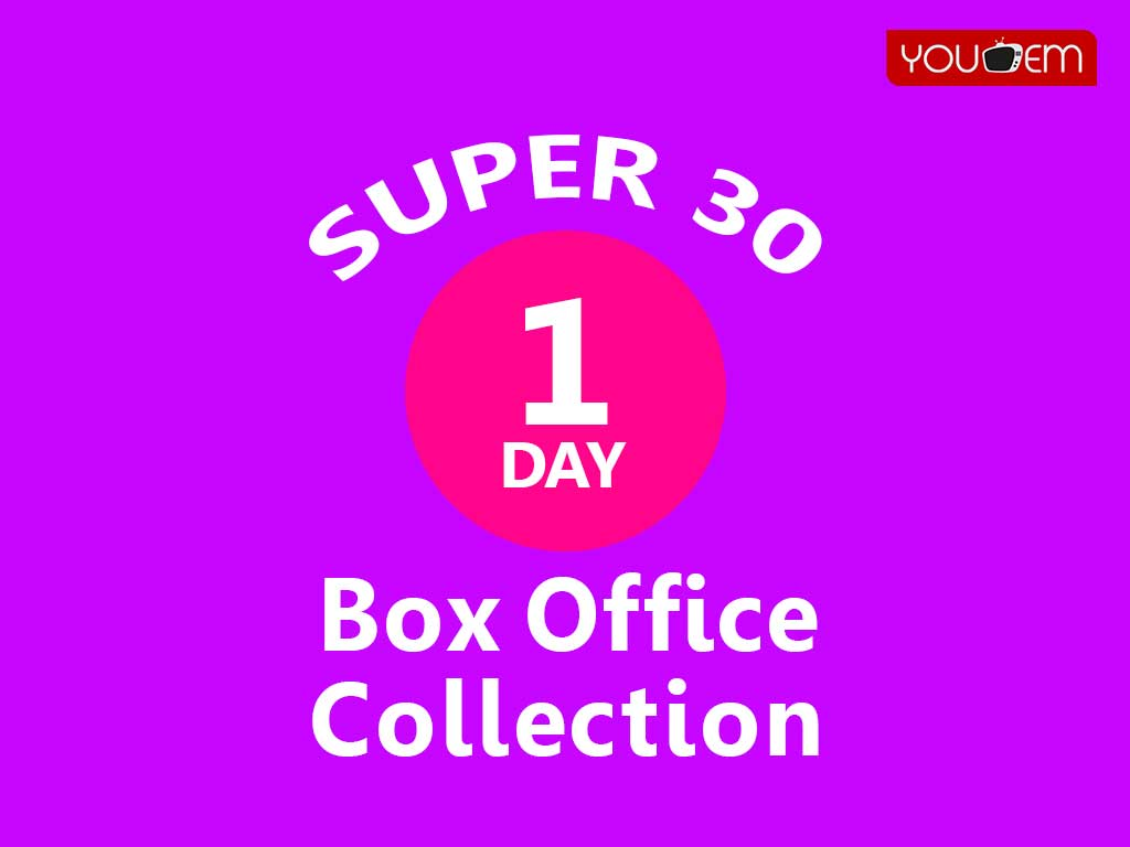 Super 30 1st Day Box Office Collection