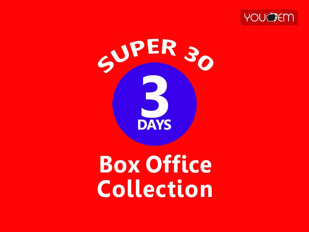 Super 30 3rd Box Office Collection