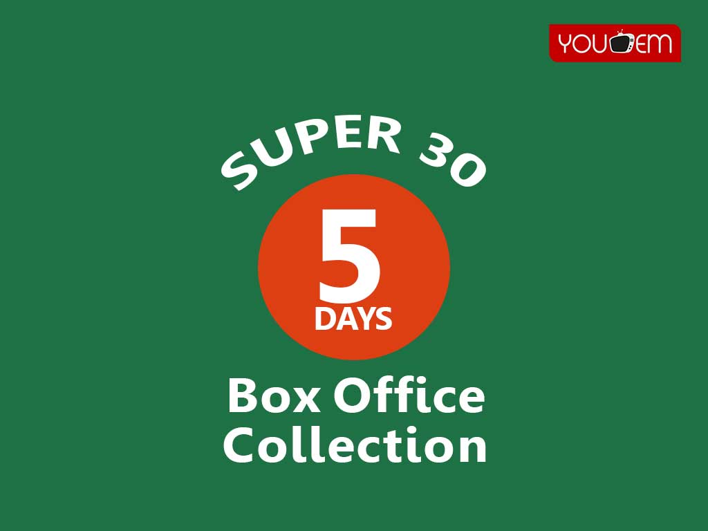 Super 30 5th Day Box Office Collection
