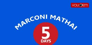 Marconi Mathai 5th Day Box Office Collection