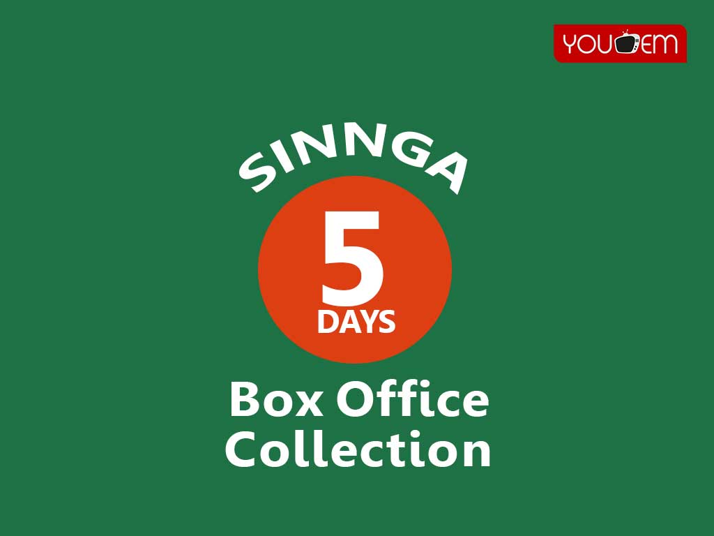 Sinnga 5th Day Box Office Collection