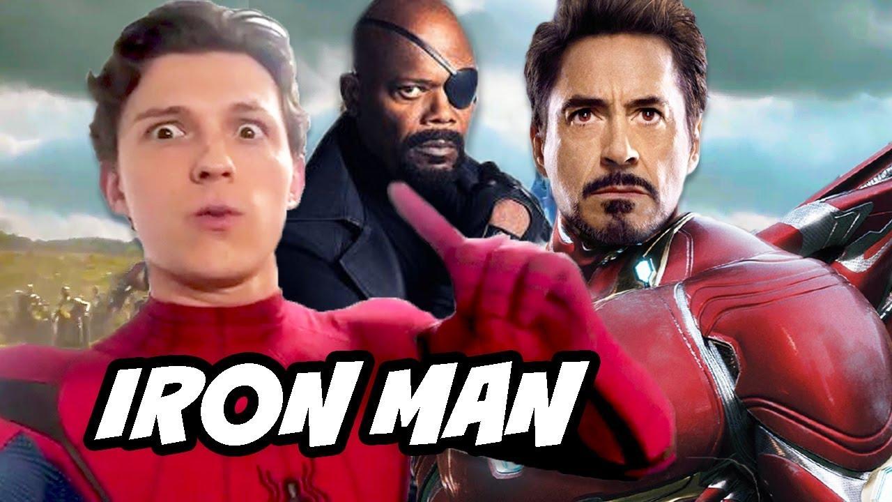 Spider Man Far From Iron Man Scene