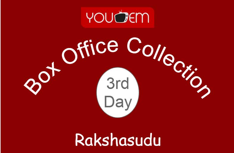 Rakshasudu 3rd Day Box Office Collection