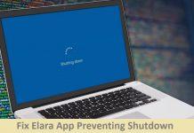 Fix Elara App Preventing Shutdown