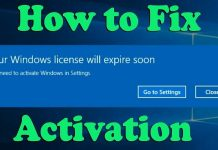 Fix Your Windows license will expire soon error