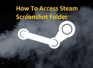 How To Access Steam Screenshot Folder