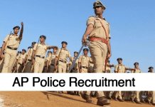 Latest AP Police recruitment Jobs