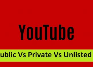 Public Vs Private Vs Unlisted