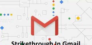 Strikethrough In Gmail